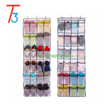 Shoe Organizer Over the Door 24 -Pocket Hanging Shoe Rack Door Shelf Hanger Holder Storage Bag