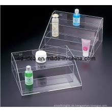 Acryl-Pop-Display, Einzelhandel / Merchandising kosmetische Zähleranzeige mit dem Drucken