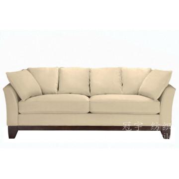 Tissu 100% polyester en daim textile pour meubles