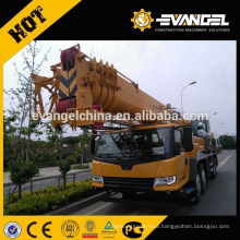 Truck Crane 50ton QY50KA with new Double pump confluence technology
