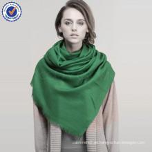 Einfarbig Twill Mongolei Hohe Qualität 100% Reiner Wolle Schal SWW716 mongolischen Lamm Schal Frauen Schal Großhandel