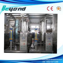 Máquina mezcladora de agua carbonatada automática completa