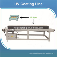 Máquina de recubrimiento de rodillos UV para tablero de mdf brillante / Máquinas para tablero laminado uv