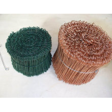 Double Loop Galvanized Copper Tie Wire