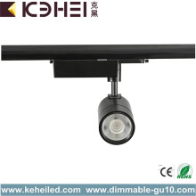 220 Volt LED 20W Track Lights Black Tracklight