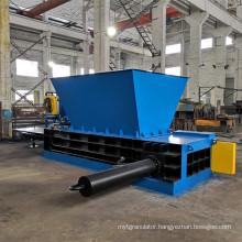 Hopper Type Metal Cans Baling Press Recycling Machine