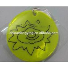 Promotion Custom Soft Reflective Key Chain, , Reflect Sticker