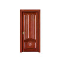 Porta de madeira interior da porta de madeira contínua do quarto da porta (RW040)