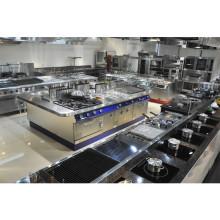 La Chine fabrique l'équipement de cuisine utilisé industriel