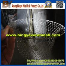 Processamento profundo de malha de arame usado na cesta de frutas
