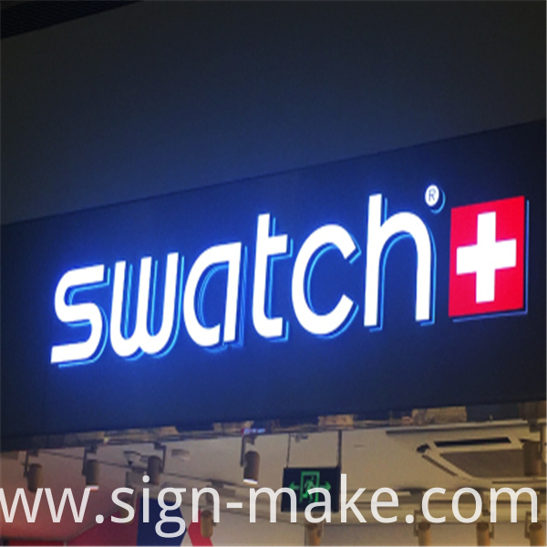 small acrylic led letters