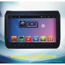 Android System GPS Navigation für Peugeot2008 2014 mit Auto DVD Spieler