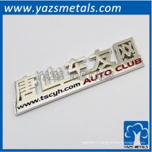 sur mesure Logo de voiture arrière pour l'équipe automobile