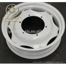 Сельскохозяйственные колесные диски для трактора 5.50Fx20, W10x24 с высокой скоростью
