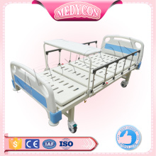 promotional ce support medicare hand abs metal manual two crank hospital bed