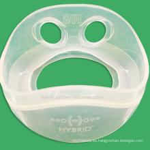 Kit de primeros auxilios Máscara facial de goma de silicona respiratoria