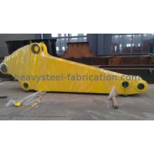 OEM Long Crane Jib / Crane Boom , Welding Steel Parts Nonst
