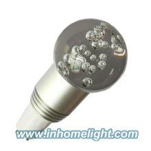 Led decoration light indoor bulb 3W RGB