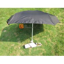 Nouveau à venir 5-pliage noir parapluie (YSF5021)