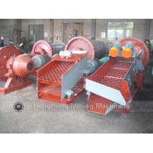 Écran rotatif / rotatif double couche à haute capacité pour charbon / minéraux / minerai