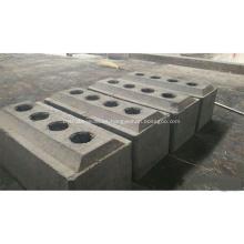 Venta de bloques de carbono de ánodos de carbono consumibles precocidos