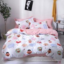 Bettwäscheset aus bedrucktem Polyester