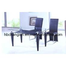 Luxo alta qualidade moderna mesa de jantar de venda quente