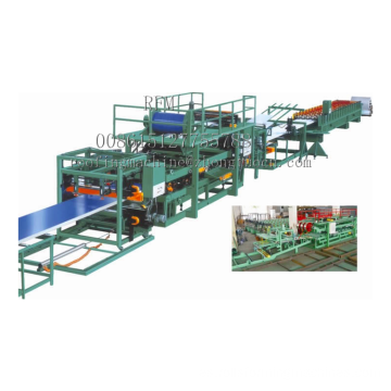 Sandwich panel roof forming machine