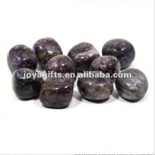 High Polished Gemstone blue river pebble stone