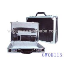 cartable hommes noir aluminium forte & portable de haute qualité de Chine usine