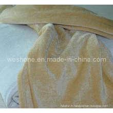 Jeter de chenille, Chenille Blanket, Throw Rt-0907