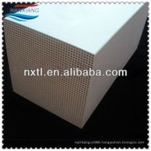 Cordierite Honeycomb Ceramic Monolith for RTO 150x150x300mm