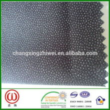 Extra heavy weight woven fusing interlining