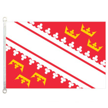100% polyster 90 * 150CM Alsace country banner flag Alsace National Flag