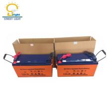 Batterie de gel de 12v 100ah pour la vente d'usine de fabrication de batterie