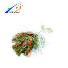 SPL031 appâts de pêche bon marché leurre spinner appâts avec deux lames de spinner