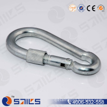 Stainless Steel Snap Hook with Screw and Eyelet