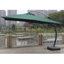Guarda-chuva de pátio de alumínio grande de estilo europeu Columbus