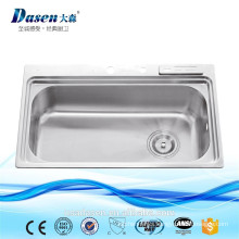 DS 8050 OEM for Thailand rv undermount double bowl kitchen sink acrylic sinks foshan kitchen sink
