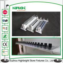 Empurrador de Display de plástico para prateleiras de supermercado