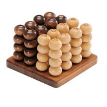 Juego de madera de tablero de ajedrez (CB1018)