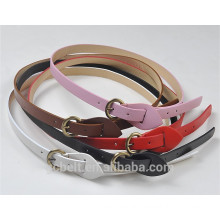 1.5cm fashion pu belt for woman's and kids' cloth