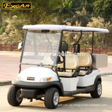 CER genehmigte elektrischen Gebrauchswarenkorb 4 Sitze Nutzfahrzeug für Verkauf