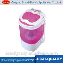 Mini lavadora doméstica pequeña y portátil de una tina