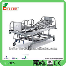 3-Crank manuelle Krankenhausbett Krankenhaus Schlafsofa