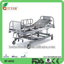 3-Crank cama de hospital manual cama de hospital de los aparatos médicos