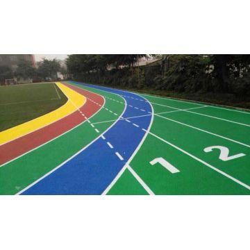 Peinture plastique ligne de piste
