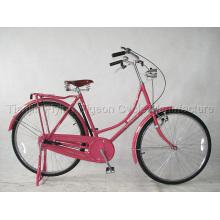 com bicicleta clássica da senhora clara do dínamo (TR-016)