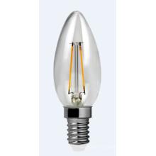 Filamento de LED luz C30-Cog-2W 220lm 2PCS filamento brackets de cerámica