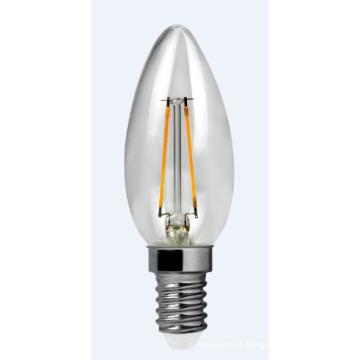 Filamento de LED luz 2W-C30-Cog 220lm 2PCS filamento suporte cerâmico